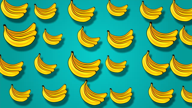 fruity animated background - icon set healthy video stock e b–roll