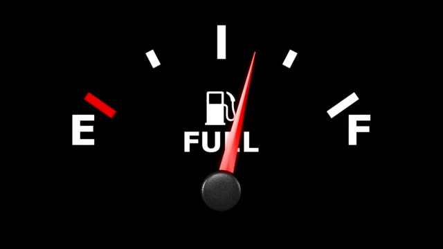 Fuel gage HD. video