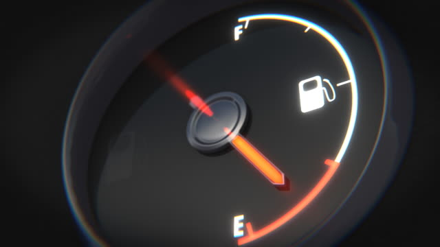 fuel gauge - vorratstank stock-videos und b-roll-filmmaterial