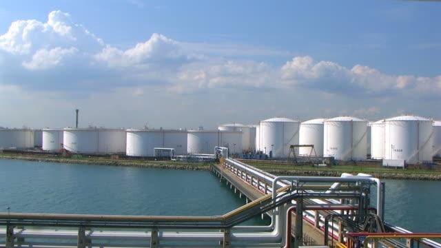 vídeos de stock, filmes e b-roll de terminal de combustível - vinho do porto