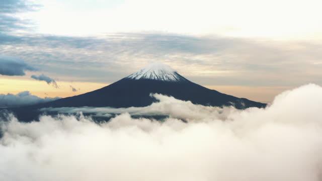 Fuji Mountain Aerial view