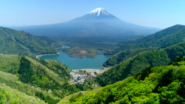 stockvideo's en b-roll-footage met fujiyama - japan