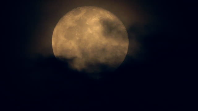 Full Moon and Cloud budge