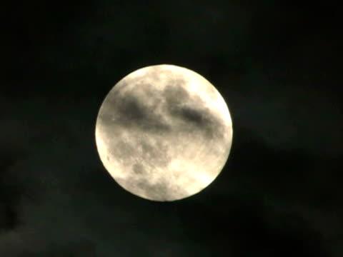 Full Moon Close-up video
