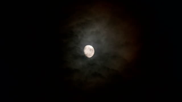 Full Moon Cloud Night - video