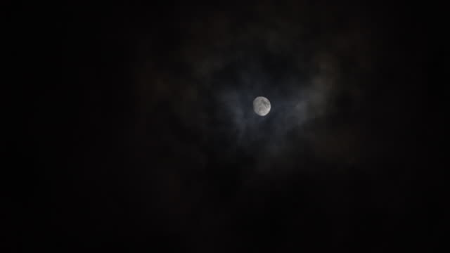 full moon night - moon stock videos & royalty-free footage