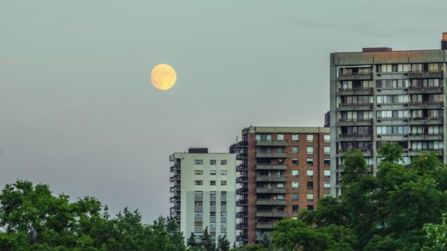 Full moon over Ottawa