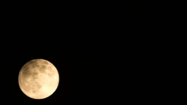 full moon time lapse - moon stock videos & royalty-free footage