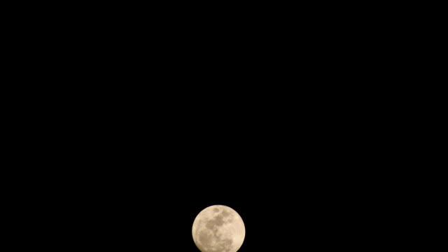 Full Moon Timelapse video