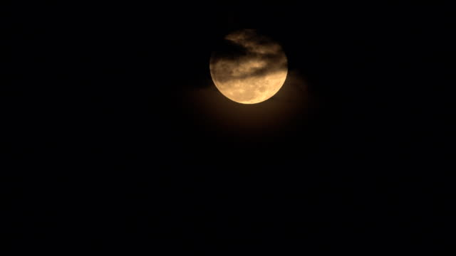 Full Moon Video of Full Moon and Cloud budge. 4K(UHD) 3840x2160 format. ghost icon stock videos & royalty-free footage