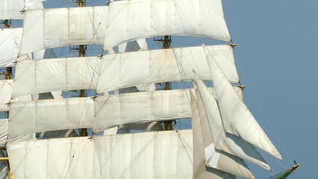 full sail of an old ship full sail of an old ship mast sailing stock videos & royalty-free footage