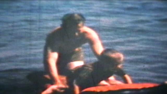 펀 앳 더 비치 (1969-빈티지 8 mm (필름 - 복고풍 스톡 비디오 및 b-롤 화면