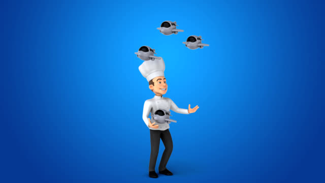 Fun chef - 3D Animation video