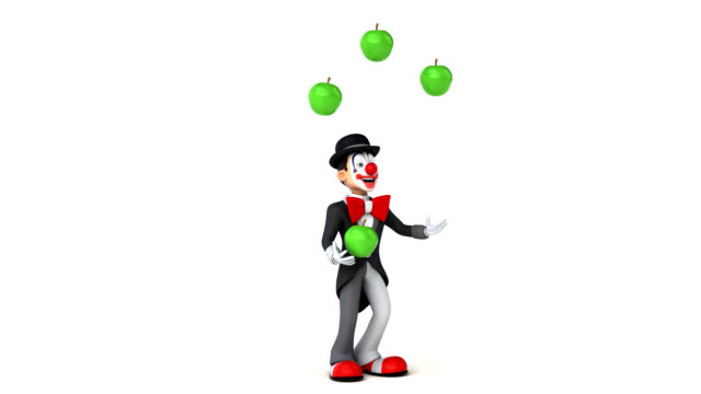 Fun clown - 3D Animation video