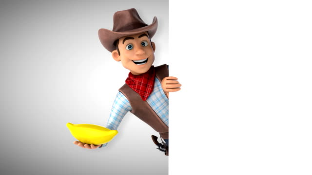 Fun Cowboy-3D animatie​ video