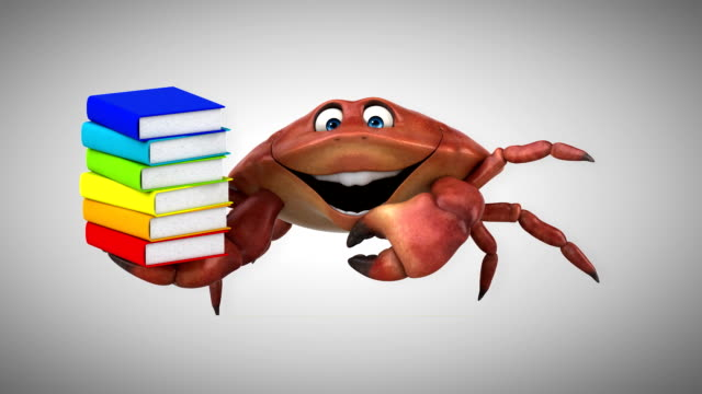 Fun crab - 3D Animation video