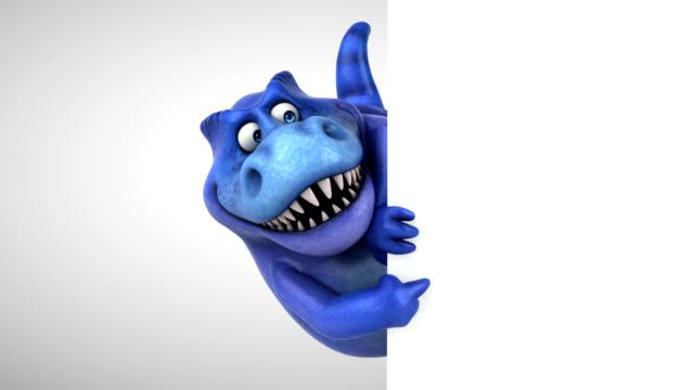 Fun dinosaur - 3D Animation video