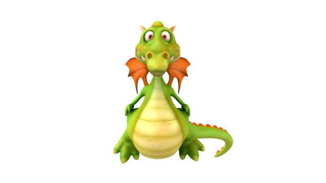 Divertido dragão - vídeo