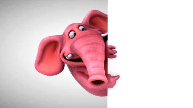 Fun elephant - 3D Animation video