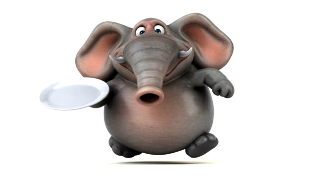 Fun elephant - 3D Animation video