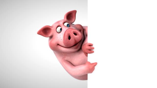 Fun pig - 3D animation video