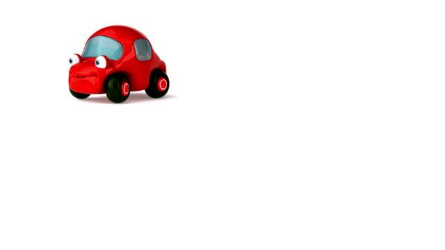 Fun red car video