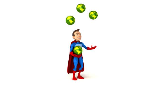 Fun superhero - 3D Animation video
