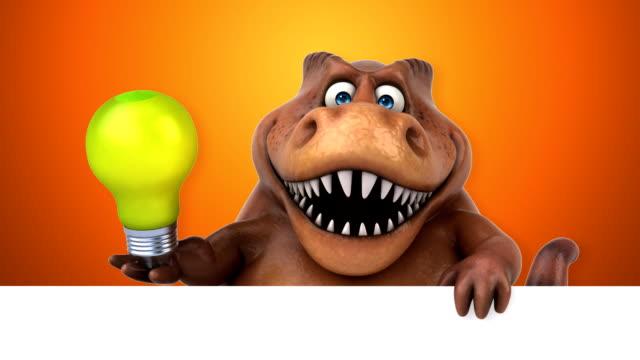 kul trex-3d animation - tyrannosaurus rex bildbanksvideor och videomaterial från bakom kulisserna