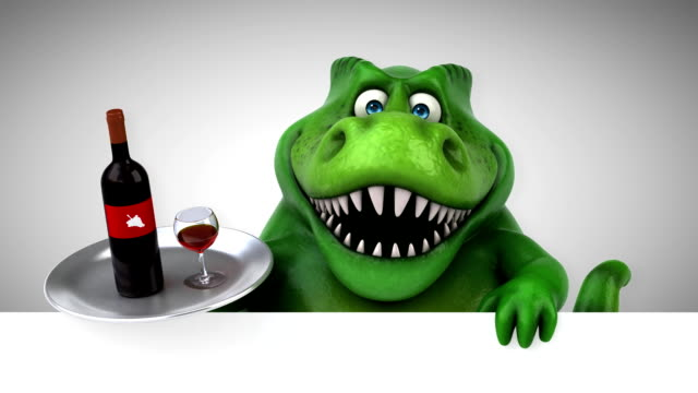 Fun trex- 3D Animation video