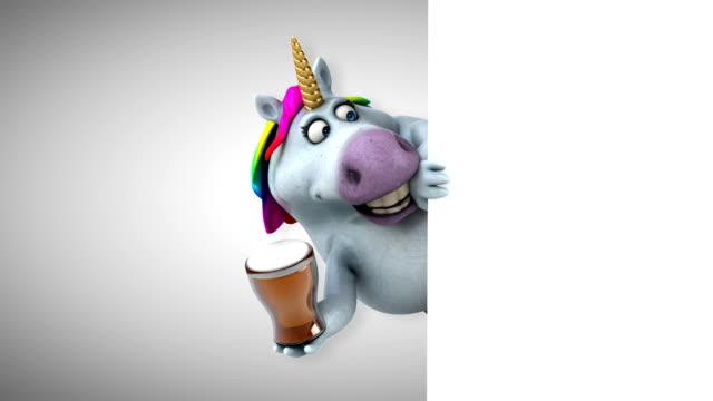 Fun unicorn - 3D Animation video