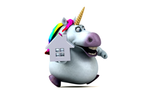 Fun unicorn - 3D Animation video