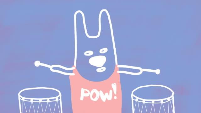 Funny Drummer