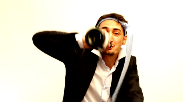 Funny, Drunk Businessman video