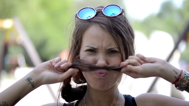 Funny moustache video
