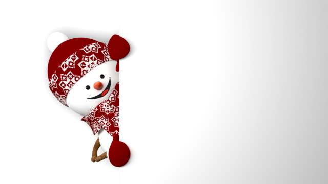 Funny Snowman in Red Hat Greeting with Hands and Smiling. Beautiful 3d Cartoon Animation with Green Screen. Animated Greeting Card. Merry Christmas and Happy New Year Concept. Funny Snowman in Red Hat Greeting with Hands and Smiling. Beautiful 3d Cartoon Animation with Green Screen. Animated Greeting Card. Merry Christmas and Happy New Year Concept. 4k UHD 3840x2160. snowman stock videos & royalty-free footage