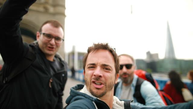 ロンドンの面白い観光客 ビデオ