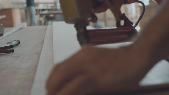 Furniture factory carpenter.
