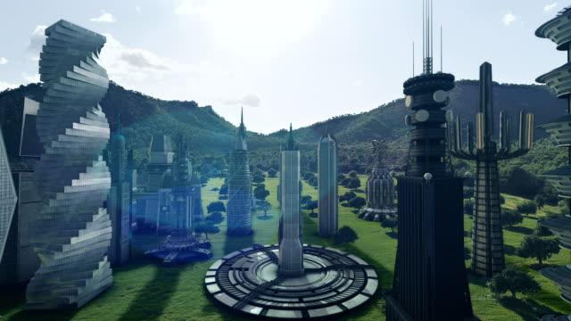 Future city concept