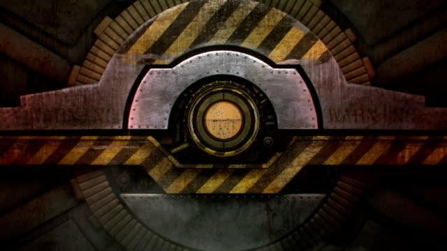 future gate opens - demir stok videoları ve detay görüntü çekimi