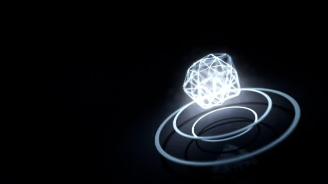 Futuristic 3D HUD Interface video