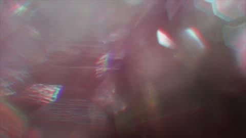 futuristischer abstrakter hintergrund, lichtpartikel, cyberpunk-psychedelic-konzept, farbenfrohe lichter - beleuchtet stock-videos und b-roll-filmmaterial