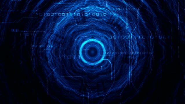 futuristic background video