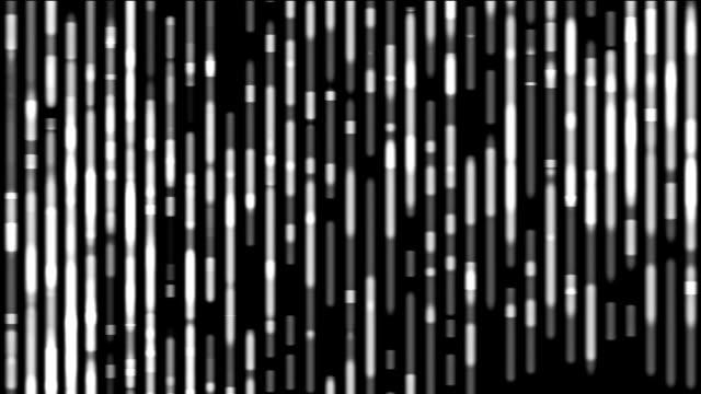Futuristic bambu motion background video