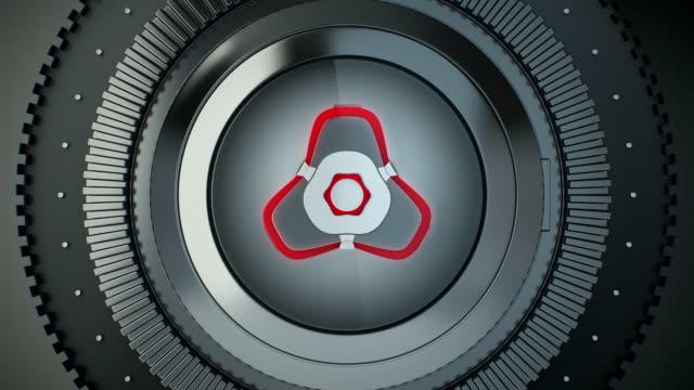 Futuristic Bank Vault Transition video
