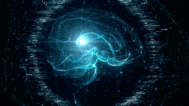 futuristic brain scan. - ai stock videos & royalty-free footage