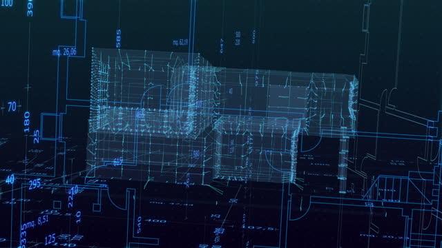 architecture model stock videos