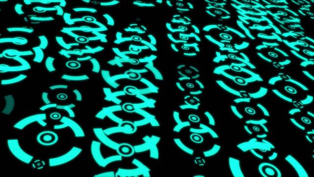 HUD Futuristic Communication Elements Information Motion Graphic