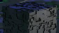 istock Futuristic digital blockchain background, fintech technology 1346605158