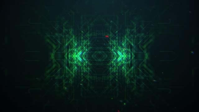 Futuristic digital pattern background
