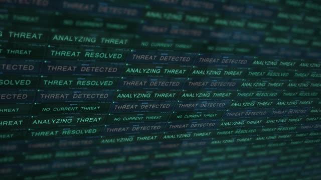 Futuristic Digital Server Technology Concept Fighting